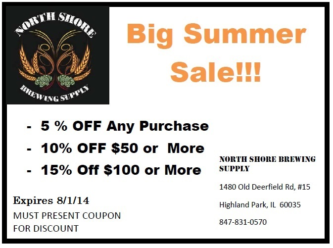 Big Summer Sale Coupon